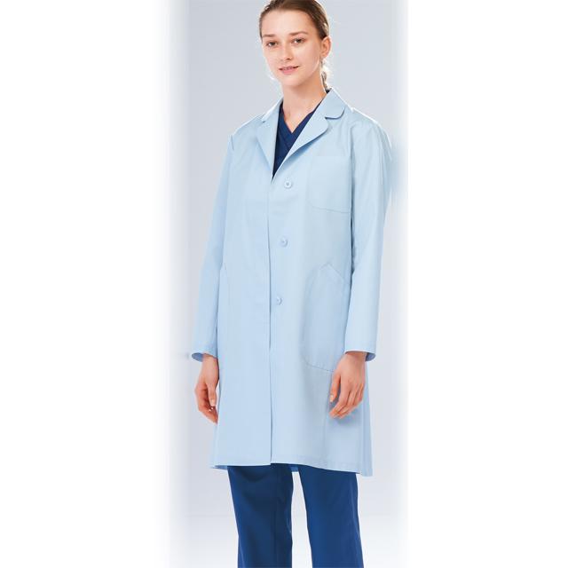 EM3035 ナガイレーベン(Naway)エミット女子シングル診察衣 長袖