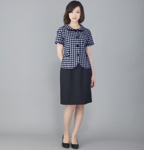 FS45749 バックアップウエスト セミタイトスカート