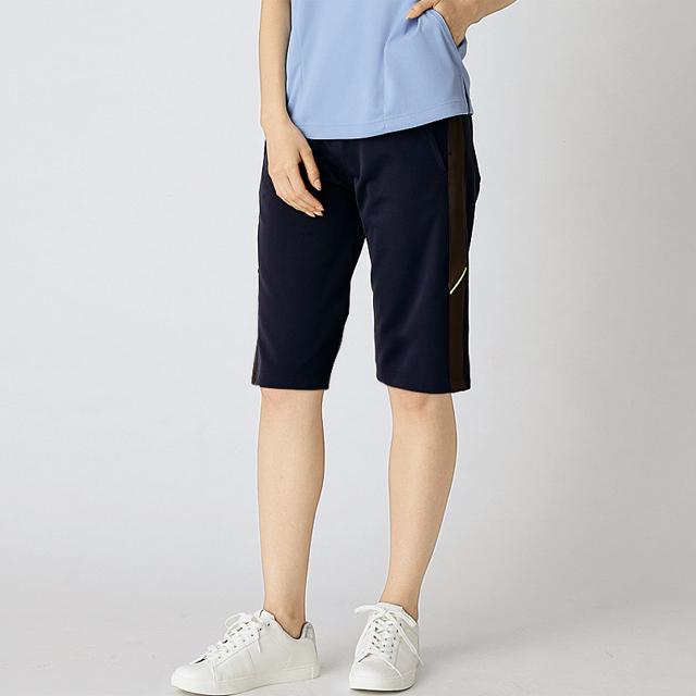 FP7414 男女兼用 腰ケアハーフパンツ(ベルト別売り) ジャージタイプ 半ズボン モンブラン製品