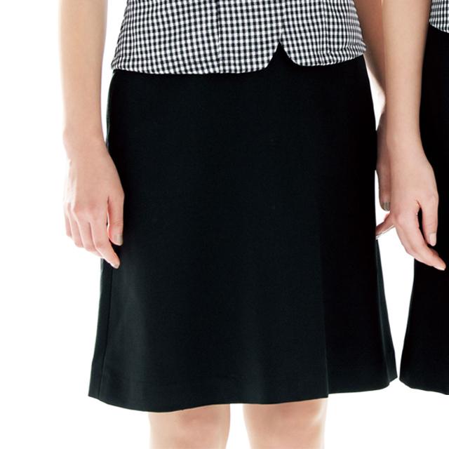 FS45738 フォーク オフィスウェア アジャスター付き マーメイドスカート 女性用 ウエスト楽  滑り止めテープ ストレッチ ホームクリーニング 洗濯可 FOLK ワークスタイル スーツ OL 会社 通勤 受付 レディース
