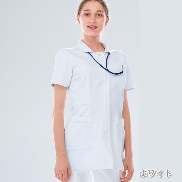FT4412 女子 上衣 ナガイレーベン製品(女性用 レディース レディス ジャケット 白衣 NAGAILEBEN)