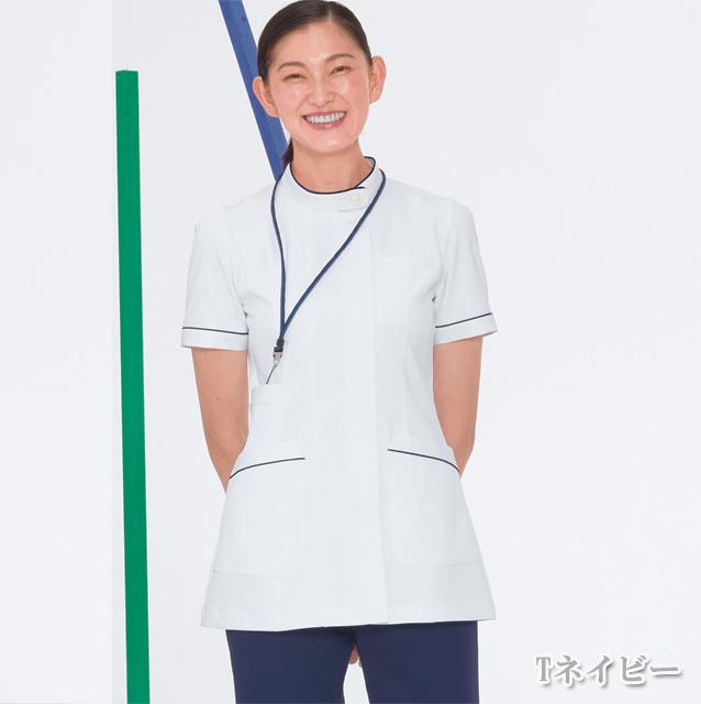 FT4482  ナガイレーベン(Naway)女子上衣 半袖