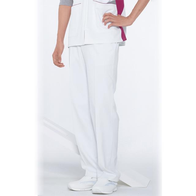 FT4508 ナガイレーベン 男子パンツ [白衣 ナース パンツ 看護師 男性 男性用 メンズ 医療用 医師用 ドクター]