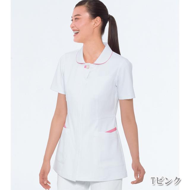 FT4552 ナガイレーベン(Naway) 女子上衣(全5色)[白衣 医療用 看護師用 ナース] (ピンク ブルー 通販)