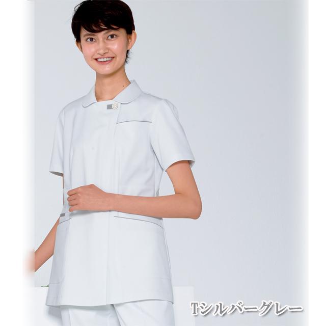 FT4622 ナガイレーベン(Naway) レディス ナースウェア 上衣 半袖 [白衣 女性 医療 ナース服]