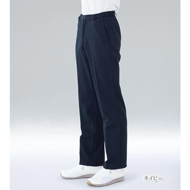 HCS2433 ナガイレーベン 男子パンツ [白衣 医療用 看護師 ナース 男性用 パンツ ズボン ネイビー ベージュ]