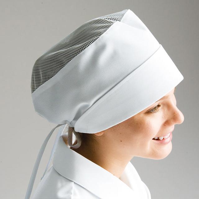 HK532 ナガイレーベン ナースウェア メッシュ帽子(2枚組) 女性用 制菌加工 制電 吸水 防汚効果 NAGAILEBEN 医療用 看護師 医師 ドクター 女子 レディース レディス キャップ ホワイト