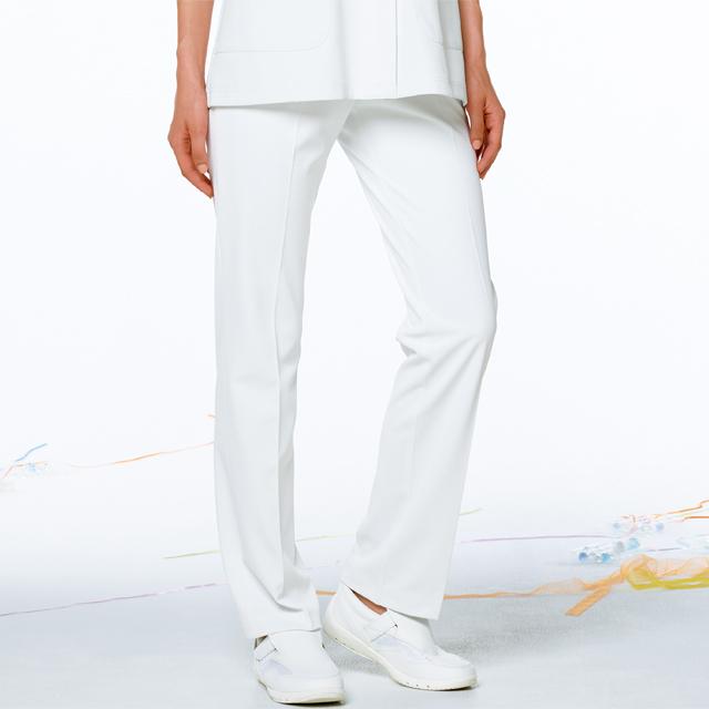 HOS4903 ナガイレーベン女子パンツ[白衣医療用看護師ナース女性用パンツズボンホワイト]