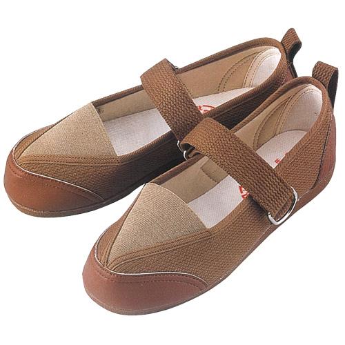 GM502 紳士用リハビリシューズ (白 茶 ホワイト ブラウン 靴 マリアンヌ製靴 mariannu 白衣ネット)