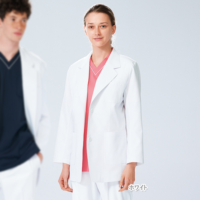 KES5170 女子 ブレザー ナガイレーベン製品(女性用 レディス レディース ジャケット 白衣 医療用 医者 ドクタージャケット NAGAILEBEN)
