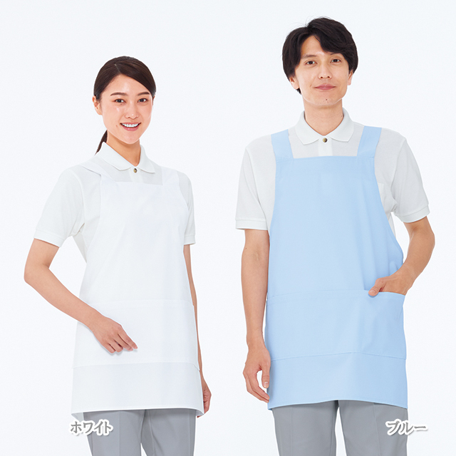 KEX1100 ナガイレーベン Naway KexStarケアガウンショート丈(男女兼用)