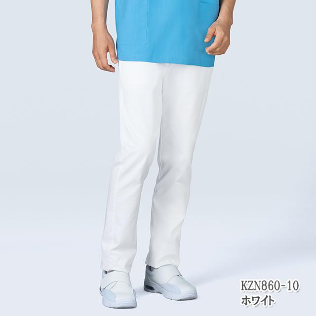 KZN860 KAZENカゼン 男女兼用パンツ [介護 ケア 施設 訪問 大きいサイズ 4L 5L 6L やや細身 ストレッチ 男性用 女性用]