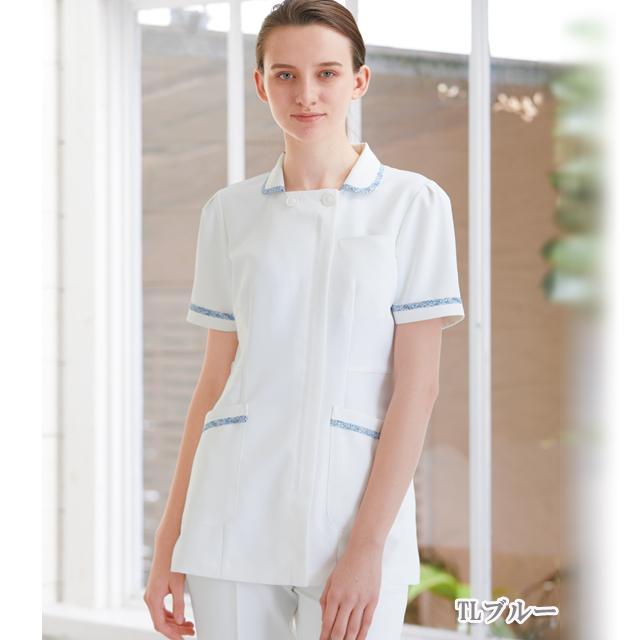 LBP4322 ナガイレーベン 女性用 ナースウェア 上衣 リバティプリント