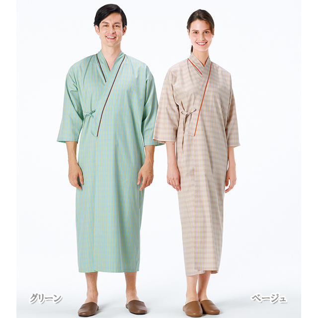 LG1470 患者衣ゆかた型