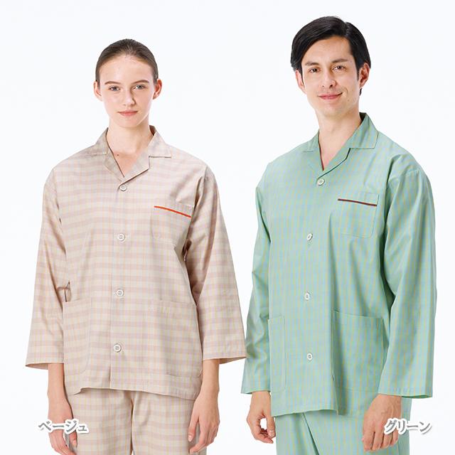 LG1476 患者衣パジャマ型上衣