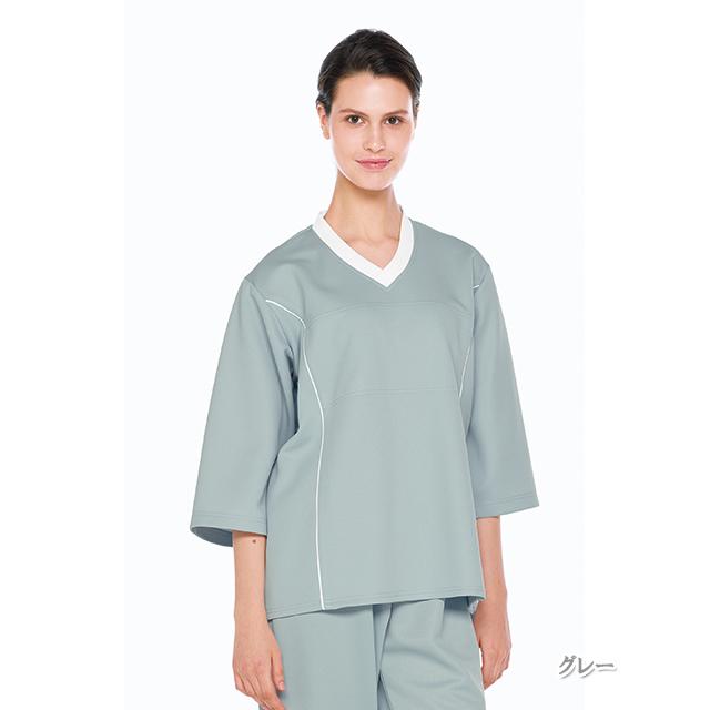 LK1406 ナガイレーベン(Naway)検診衣上衣(男女兼用)