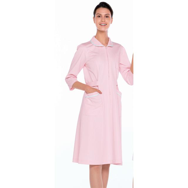 MI4636 ナガイレーベン(Naway)Mirelia 看護衣7分袖 ワンピース