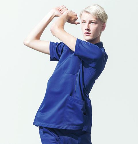 MZ-0049 ミズノ 身体の動きに追随する 動きやすいウェア ケーシージャケット メンズ 男性【白衣ネット】