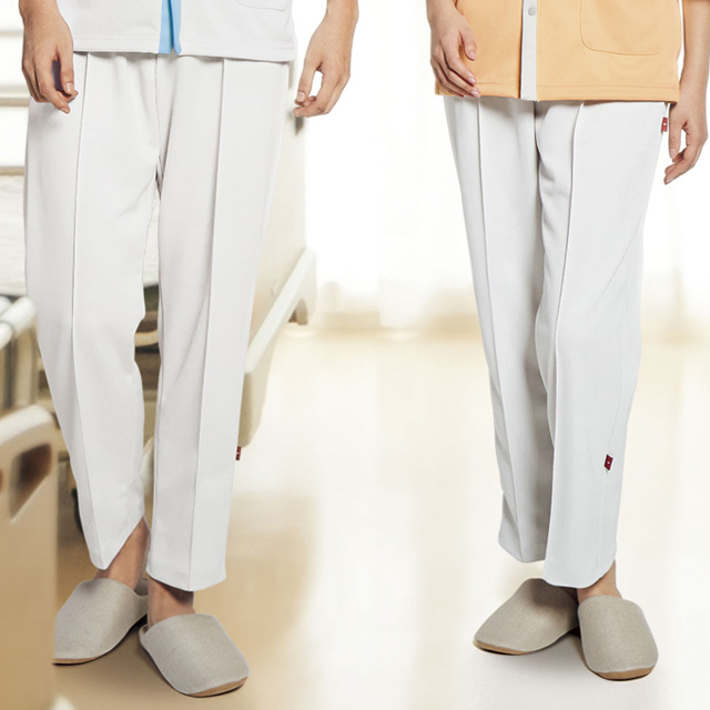 MZ-0195 チトセ ミズノ 患者衣 リハビリケアパンツ 男女兼用 ウエストゴム 動きやすい 吸汗速乾 ストレッチ 工業洗濯可 CHITOSE MIZUNO 医療用 入院患者 病院 老人ホーム 患者着 院内着 ユニセックス