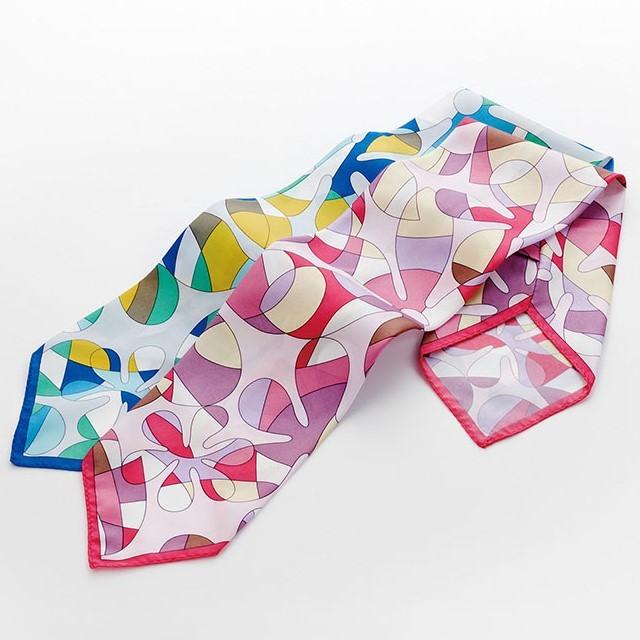 NF5275 ナガイレーベン オフィスウェア スカーフ 女性用 長さ77cm×幅12cm ポリエステル100% NAGAILEBEN 事務服 制服 ユニフォーム スーツ レディース レディス アクセサリー おしゃれ リボンにも ネクタイにも ピンク ブルー