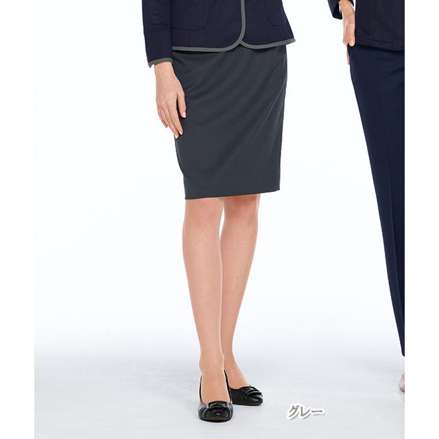OA6013 ナガイレーベン 女子 スカート [レディース 制服 事務服 オフィス スーツ グレー ネイビー]