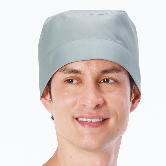 OR506 ナガイレーベン ドクターウェア 手術帽 男性用 2枚組 後ろ紐止め式 制電 吸水NAGAILEBEN 医療用 看護師 ドクター 医師 医者 メンズ 男子 オペキャップ オペ帽 病院 クリニック オペ室 手術室