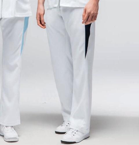 SMS504 adidas アディダス メンズパンツ(KAZEN)[白衣 ドクター 医師 ナースウェア 看護師 介護 男性用 病院 医院 ホワイト サックス グレー ネイビー]