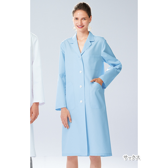 TAP75 ナガイレーベン(Naway)DoctorTop 女子シングル診察衣