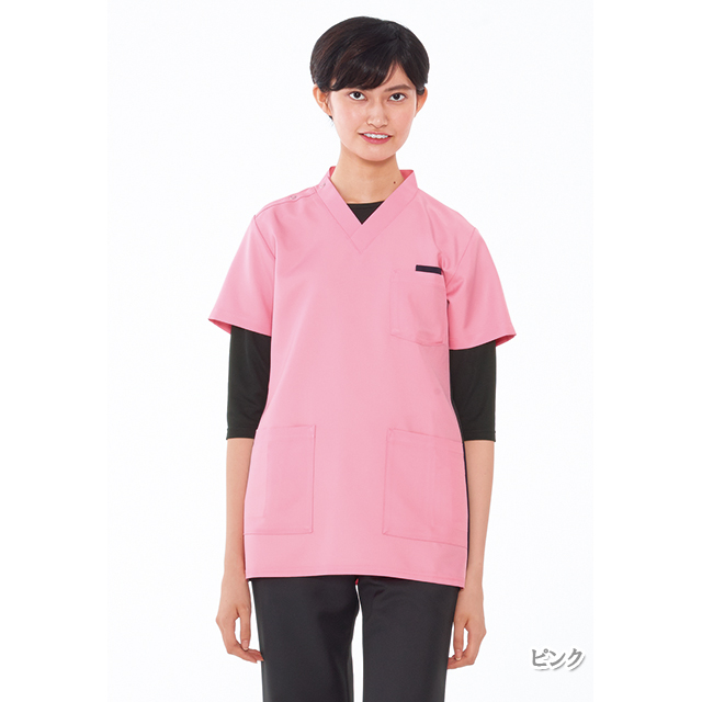 RT5062 男女兼用 スクラブ ナガイレーベン製品(ユニセックス ナースウェア ジャケット 白衣 看護師 上衣 NAGAILEBEN)