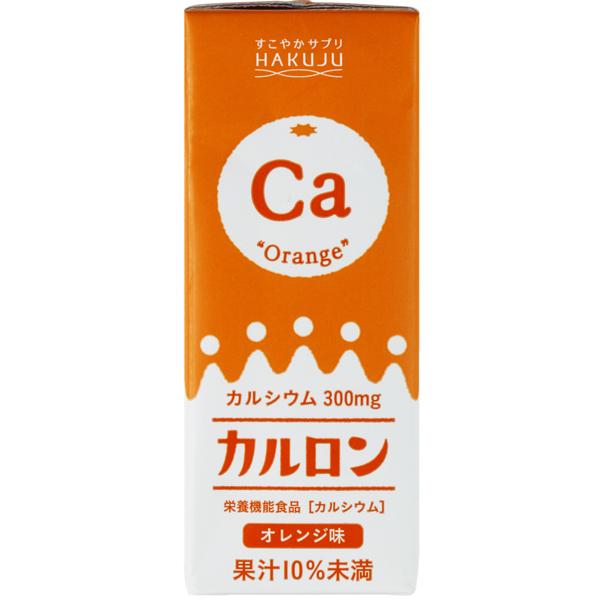 カルロン オレンジ味 200ml×24本