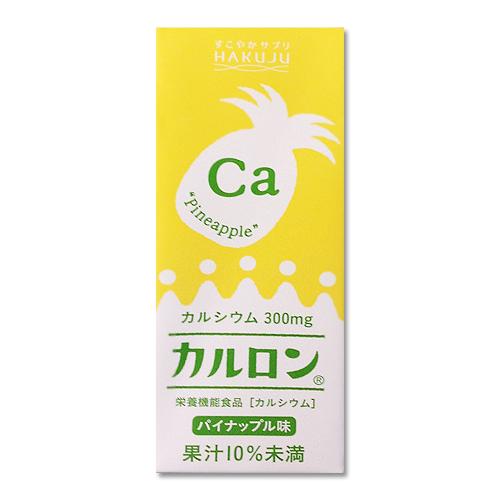 【季節替わりのフルーツ味】カルロン パイナップル味 200ml×24本