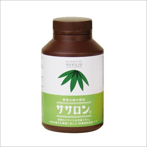 クマザサ由来の不溶性食物繊維【ササロン】151g ボトル入り(約1ヶ月分)
