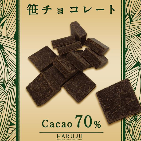 冬季限定 【笹チョコレート】 50g