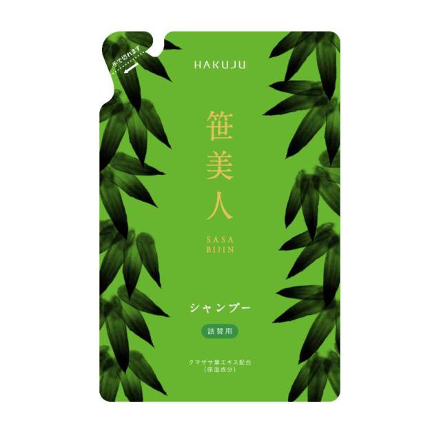 ノンシリコン【笹美人 ナチュラルヘアシャンプー】詰替用 350ml入り