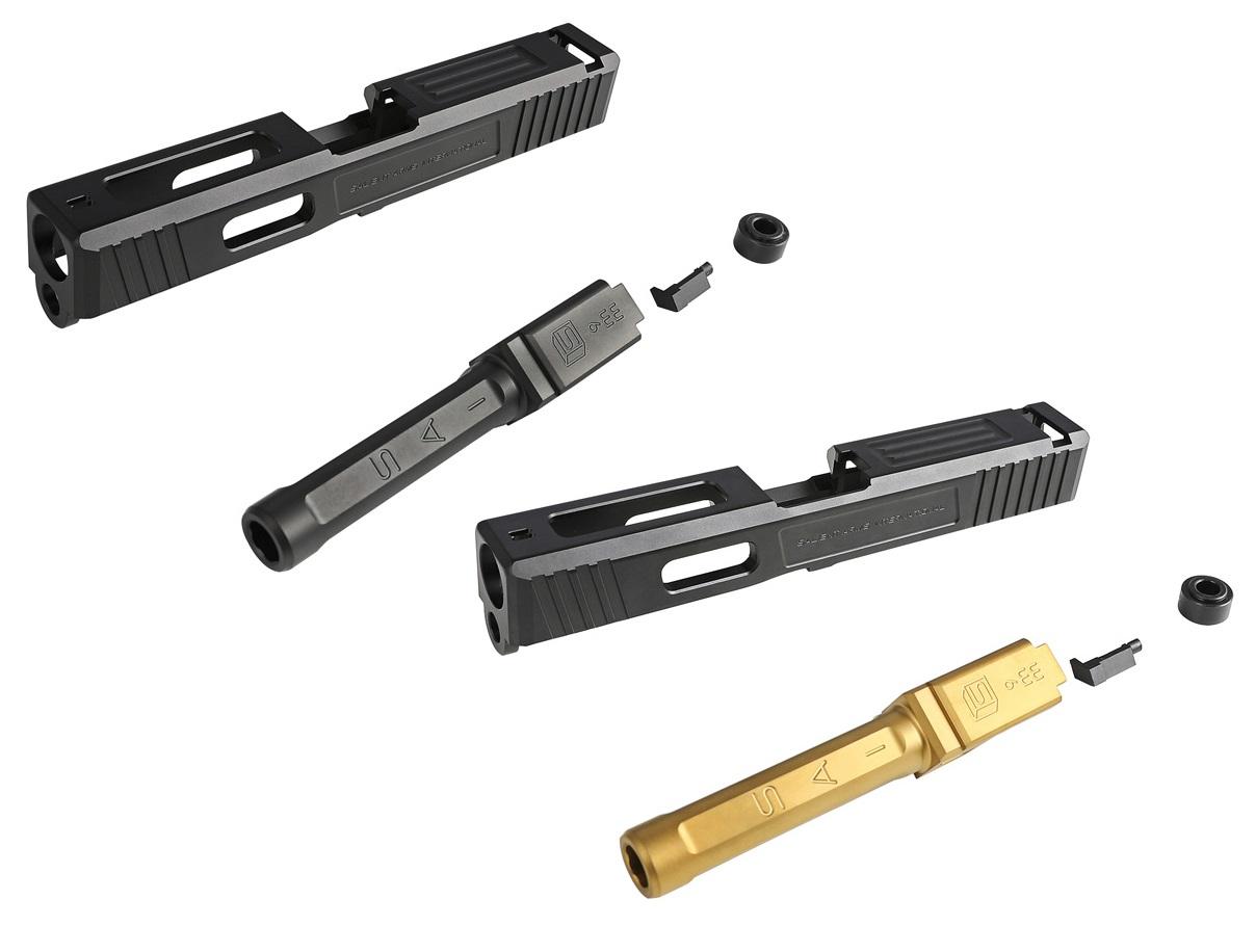 【特価】Guns Modify Glock19 SAI Tier Oneスタイルアルミスライドセット (東京マルイ対応)