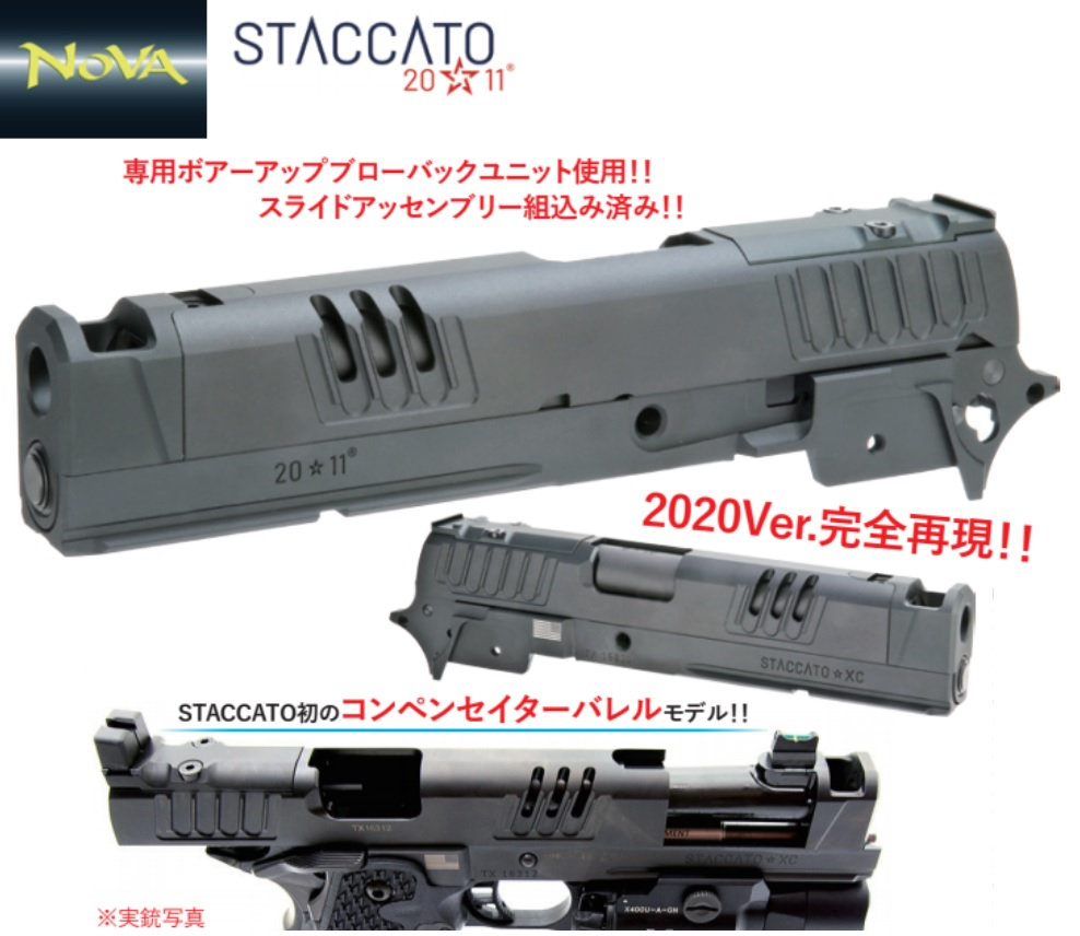 NOVA マルイHi-Cap用STACCATO-XC 2020Ver.コンバージョンキット