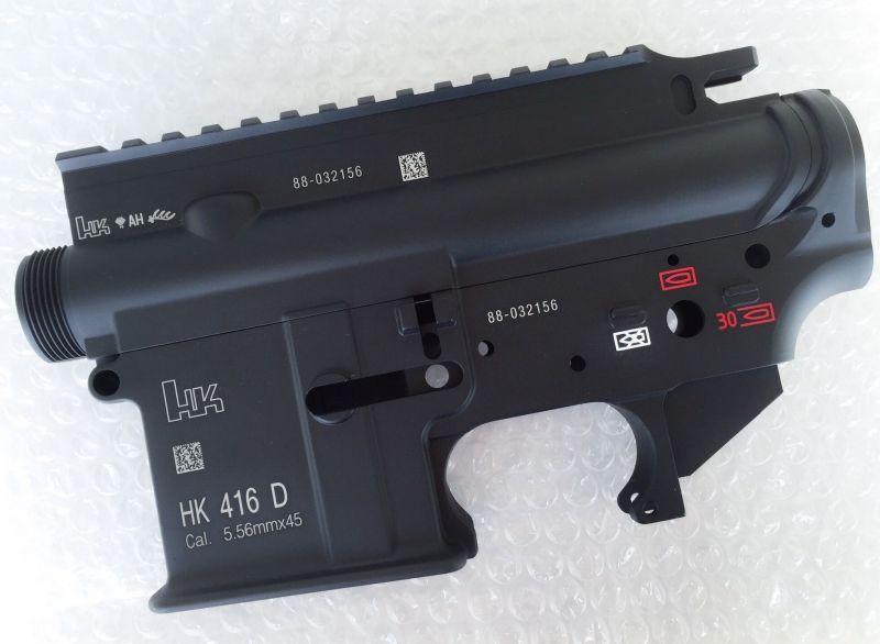 SGT VFC HK416 GBB用 セラコートレシーバー DEVGRU仕様刻印
