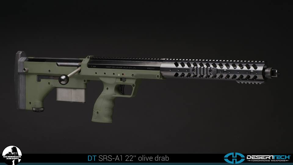 Silverback airsoft  Desert Tech SRS-A1 22インチ