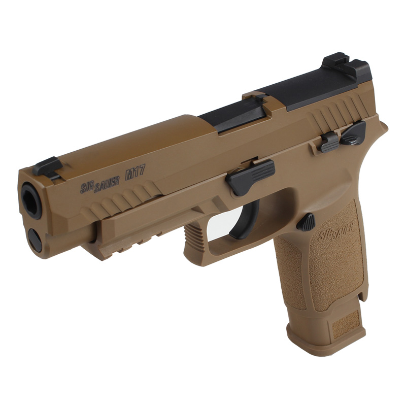 SIG Airsoft/VFC P320-M17 ガスブローバックピストル (Official Licensed)