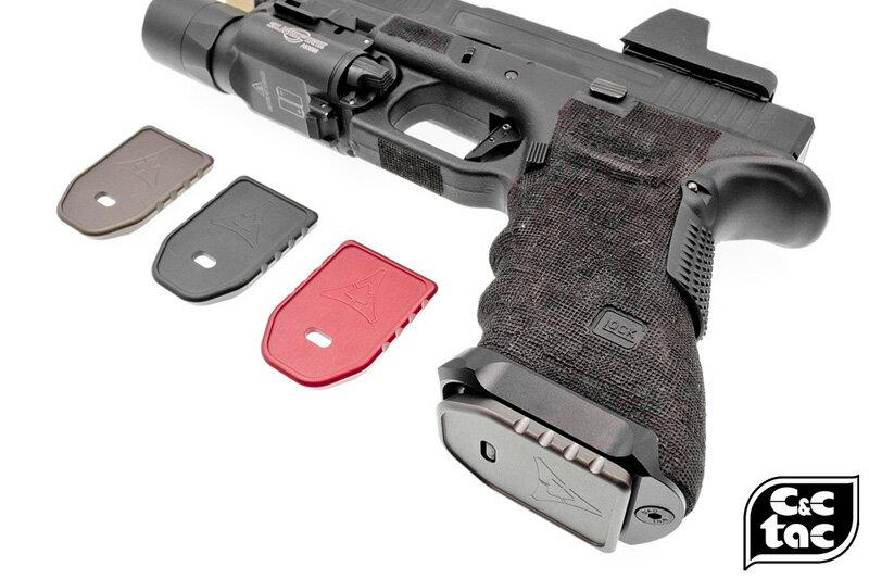 C&C Tac Killer Innovationsスタイル Glock GPベースパッド (東京マルイ/WEグロックシリーズ対応)