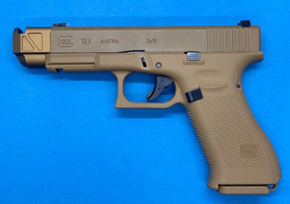 Pro-arms Umarex G19X, G17 gen5用 PMMタイプコンペンセイター&スレッドアウターバレルセット
