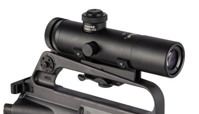 Brownells RETRO 4X CARRY HANDLE SCOPE