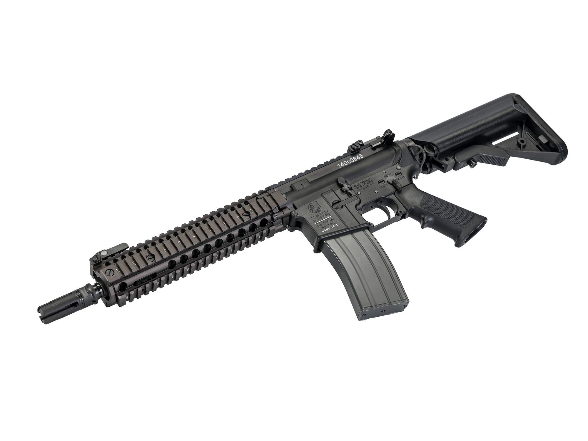 DNA Mk18Mod1 NavySeals GBBR (Limited Product)