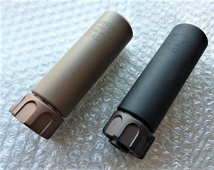 Angrygun SUREFIRE SOCOM556 mini QDサプレッサー & ハイダーセット 限定リアル刻印タイプ