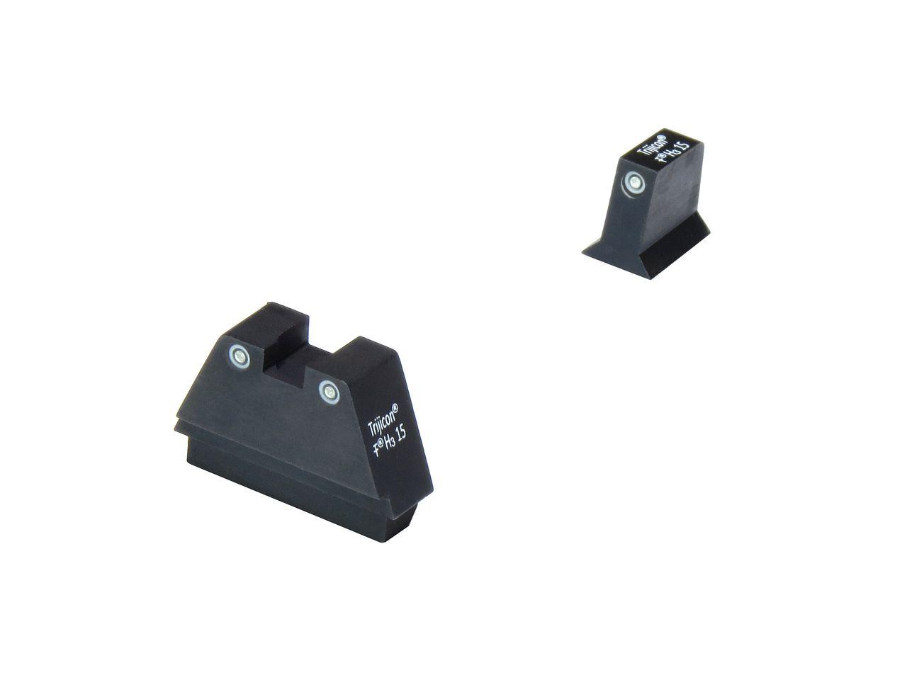 NorthEast Glock Silencer NightSights/トリチウムナイトサイト/High (マルイ/WE Glock用)