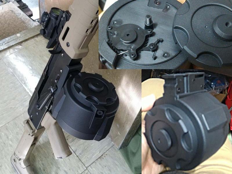 NB PMAG型 D-60 ドラムマガジン