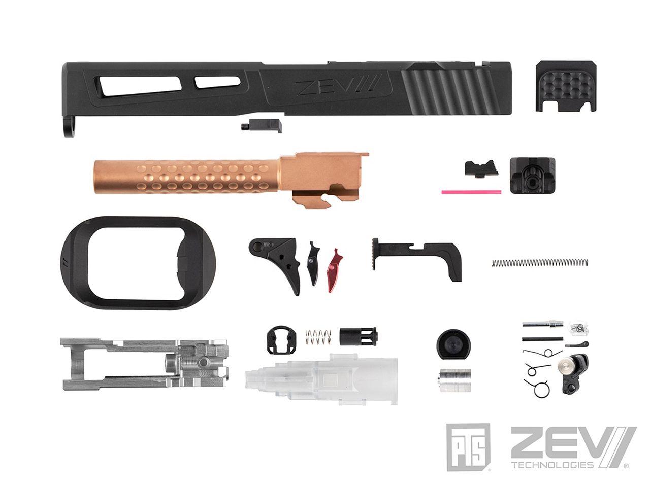 【新製品予約】PTS ZEV Prizefighter マルイG17用スライドキット