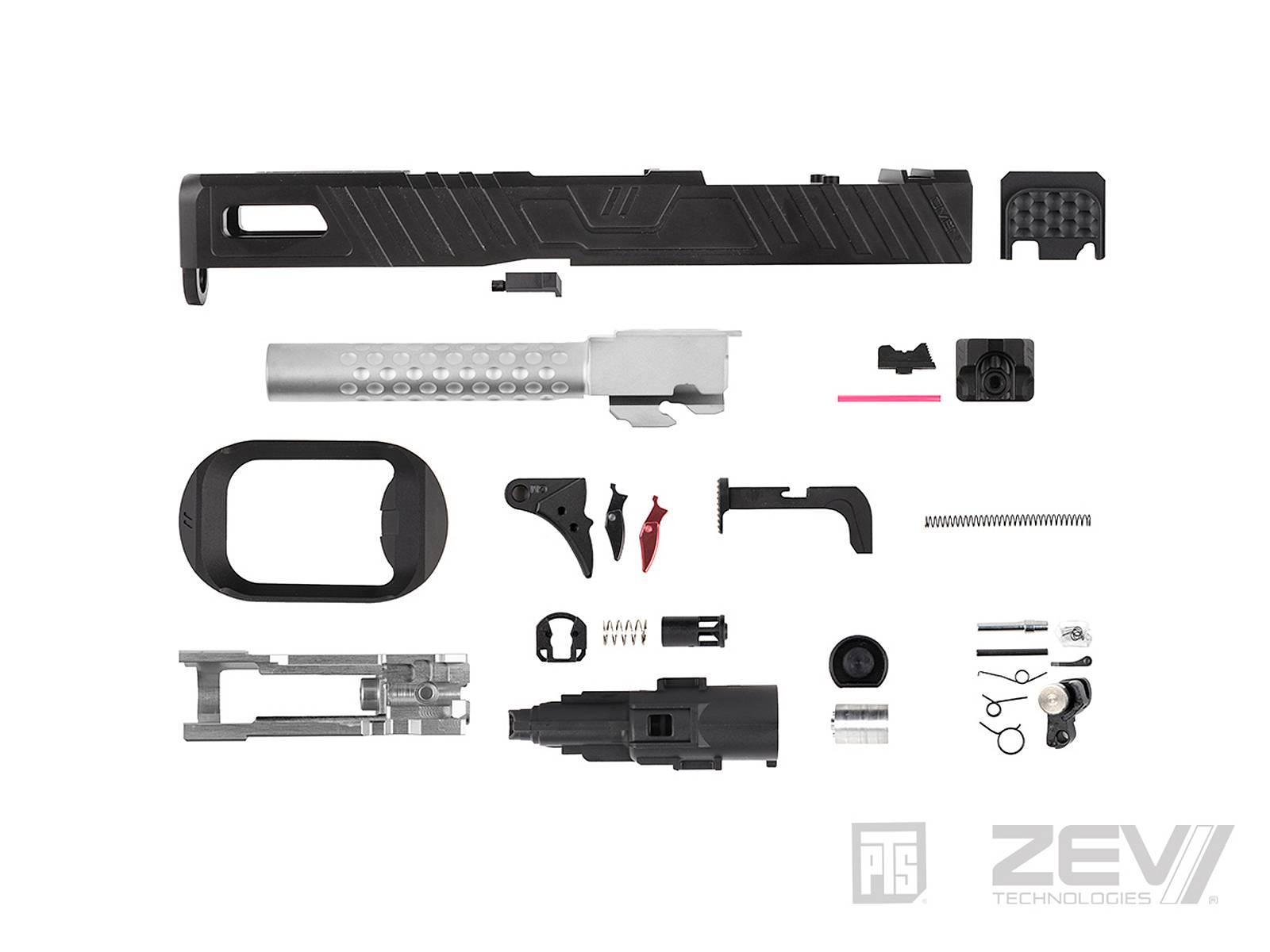 【新製品予約】PTS ZEV Omen マルイG17用スライドキット