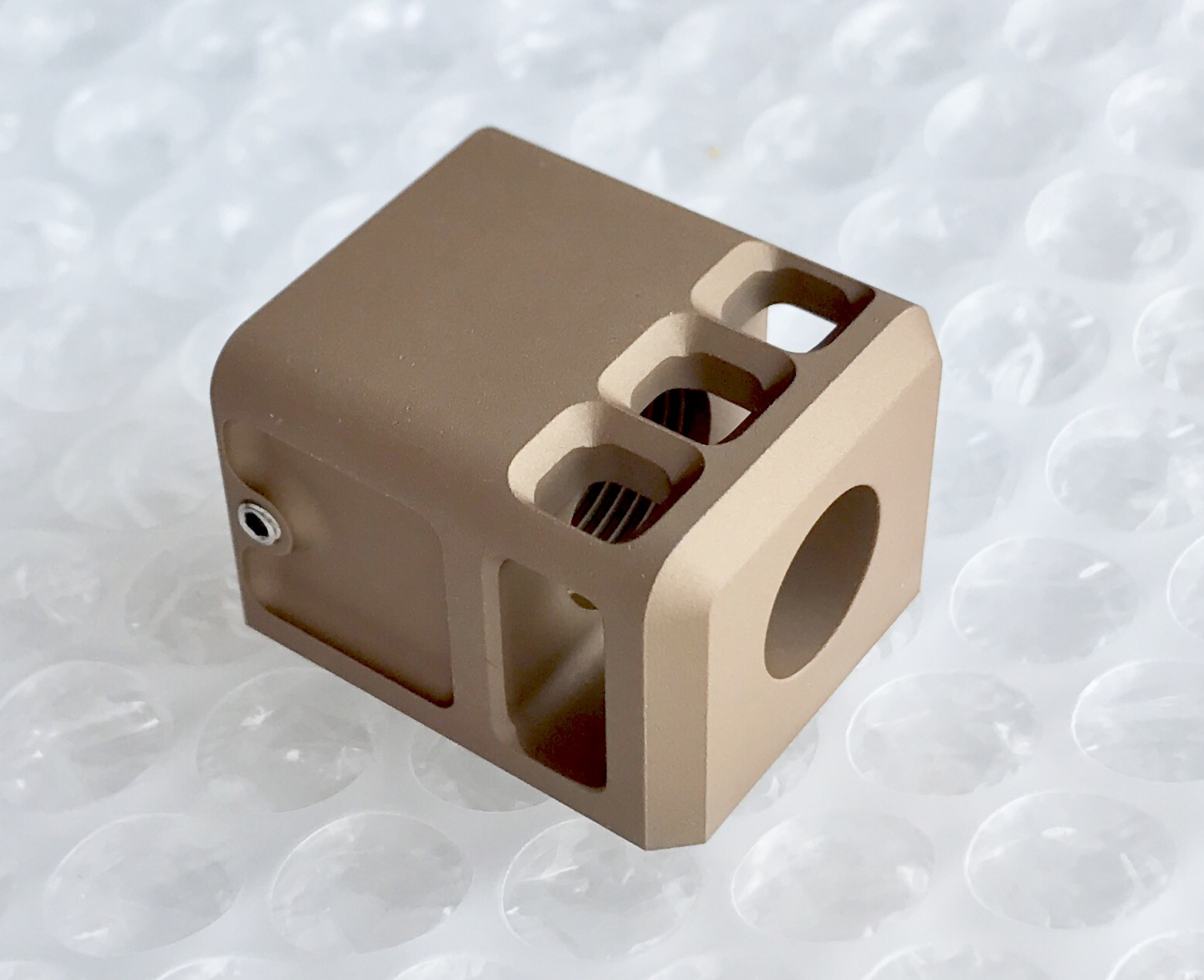 Ready fighter TBRCi タイプ Glock マイクロコンペセイター FDE 14mm正