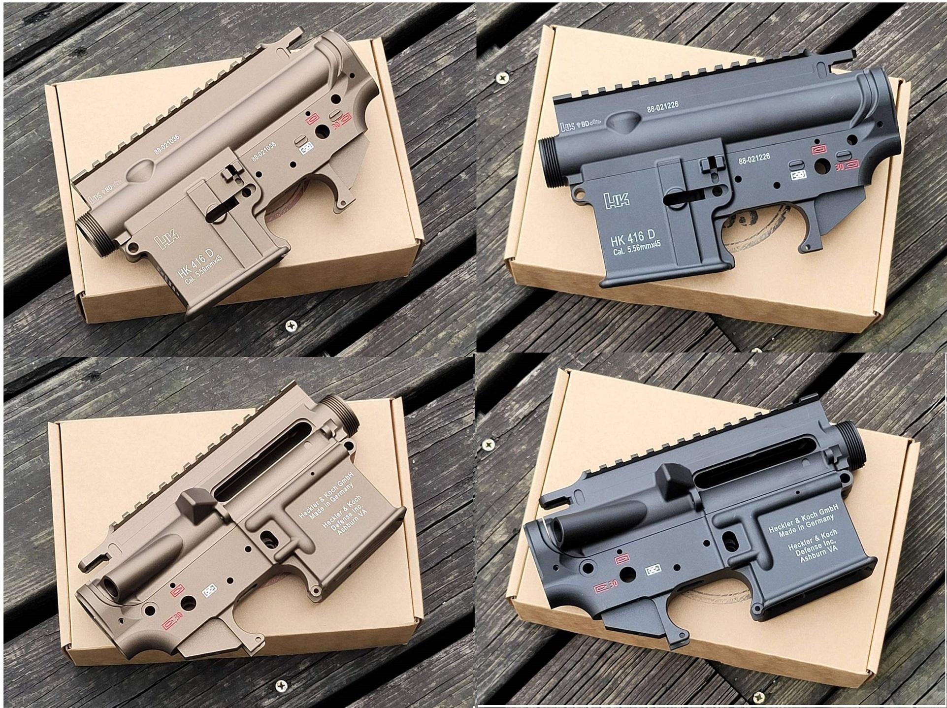 TaskForce405 HK416Dレシーバーセット/アルミCNC (Umarex/VFC HK416D Gen2用)